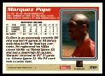 1995 Topps #332  Marquez Pope  Back Thumbnail