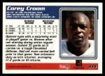 1995 Topps #334  Corey Croom  Back Thumbnail