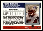 1995 Topps #379  Todd Collins  Back Thumbnail