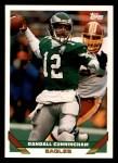 1993 Topps #525  Randall Cunningham  Front Thumbnail