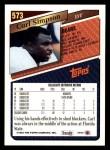 1993 Topps #573  Carl Simpson  Back Thumbnail