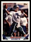 1993 Topps #658  Hugh Millen  Front Thumbnail