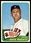 1965 Topps #295  Dick Radatz  Front Thumbnail