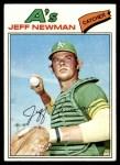 1977 Topps #204  Jeff Newman  Front Thumbnail