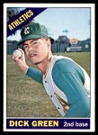 1966 Topps #545  Dick Green  Front Thumbnail