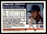 1995 Topps Traded #54 T Edgardo Alfonzo  Back Thumbnail