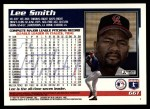 1995 Topps Traded #66 T Lee Smith  Back Thumbnail