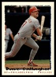 1995 Topps Traded #90 T Dave Gallagher  Front Thumbnail