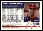 1995 Topps Traded #96 T Bob Tewksbury  Back Thumbnail