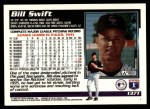 1995 Topps Traded #137 T Bill Swift  Back Thumbnail