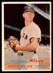 1957 Topps #189  Willard Nixon  Front Thumbnail
