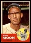1963 Topps #279  Wally Moon  Front Thumbnail