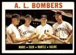 1964 Topps #331   -  Mickey Mantle / Al Kaline / Roger Maris / Norm Cash AL Bombers Front Thumbnail