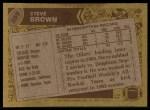 1986 Topps #359  Steve Brown  Back Thumbnail