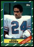 1986 Topps #359  Steve Brown  Front Thumbnail