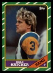 1986 Topps #93  Dale Hatcher  Front Thumbnail