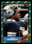 1986 Topps #126  Tony Dorsett  Front Thumbnail