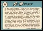 1965 Topps #99  Gil Hodges  Back Thumbnail