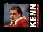 1985 Topps #17  Mike Kenn  Front Thumbnail