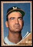 1962 Topps #458 EMB Bob Buhl  Front Thumbnail