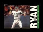 1985 Topps #348  Pat Ryan  Front Thumbnail
