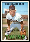 1967 Topps #98 RED Rich Rollins  Front Thumbnail
