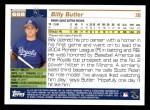 2005 Topps #668  Billy Butler  Back Thumbnail