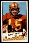 1952 Bowman Small #143  Johnny Papit  Front Thumbnail