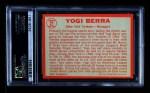 1964 Topps #21  Yogi Berra  Back Thumbnail