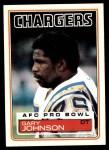 1983 Topps #376  Gary Johnson  Front Thumbnail