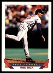 1993 Topps Traded #25 T Jeff Russell  Front Thumbnail