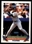 1993 Topps Traded #55 T Derek Bell  Front Thumbnail