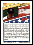 1993 Topps Traded #79 T  -  Todd Walker Team USA Back Thumbnail