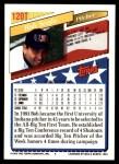 1993 Topps Traded #120 T  -  Bob Scafa Team USA Back Thumbnail