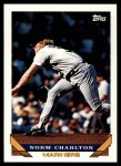 1993 Topps Traded #123 T Norm Charlton  Front Thumbnail