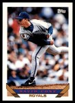 1993 Topps Traded #125 T David Cone  Front Thumbnail