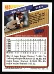 1993 Topps #413  Pete Smith  Back Thumbnail