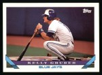 1993 Topps #628  Kelly Gruber  Front Thumbnail
