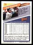 1993 Topps #79  Dick Schofield  Back Thumbnail
