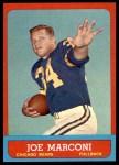 1963 Topps #66  Joe Marconi  Front Thumbnail