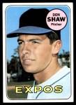 1969 Topps #183 COR Don Shaw  Front Thumbnail