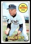 1969 Topps #126  Dick Tracewski  Front Thumbnail