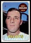 1969 Topps #577  Mike Hegan  Front Thumbnail
