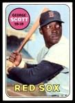 1969 Topps #574  George Scott  Front Thumbnail