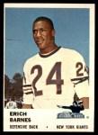 1961 Fleer #73  Erich Barnes  Front Thumbnail