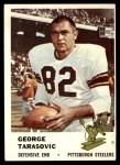 1961 Fleer #124  George Tarasovic  Front Thumbnail