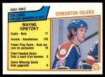 1983 O-Pee-Chee #22   -  Wayne Gretzky Oilers Leaders Front Thumbnail