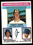 1976 Topps #201   -  Tom Seaver / Randy Jones / Andy Messersmith NL ERA Leaders   Front Thumbnail