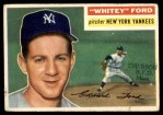 1956 Topps #240  Whitey Ford  Front Thumbnail