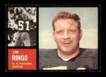 1962 Topps #68  Jim Ringo  Front Thumbnail
